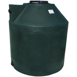 305 Gallon Dark Green Vertical Water Storage Tank
