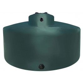550 Gallon Green (California Only) Vertical Water Storage Tank