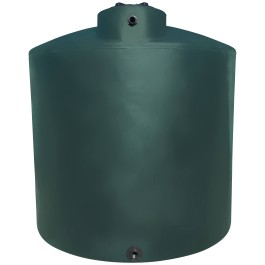 10000 Gallon Dark Green Vertical Water Storage Tank