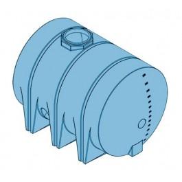 1310 Gallon Light Blue Heavy Duty Drainable Leg Tank
