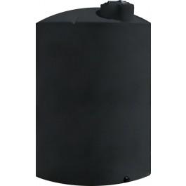 4200 Gallon Black Vertical Storage Tank