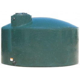 1500 Gallon Green (California Only) Vertical Water Storage Tank