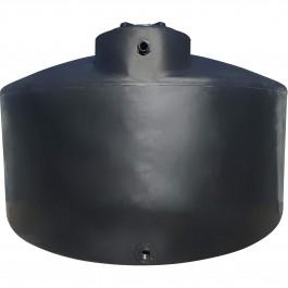 2500 Gallon Black Vertical Water Storage Tank