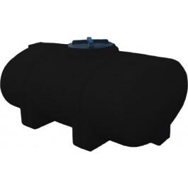 535 Gallon Black Elliptical Leg Tank