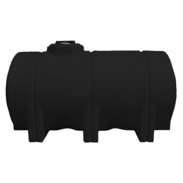 725 Gallon Black Heavy Duty Horizontal Leg Tank
