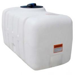 50 Gallon White Ribbed PCO Tank
