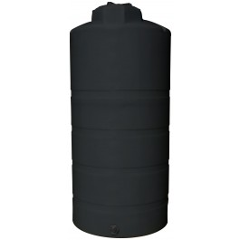 850 Gallon Black Vertical Storage Tank