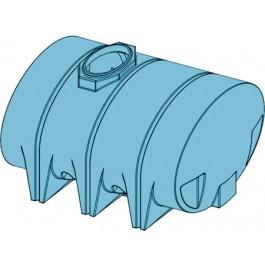 1315 Gallon Light Blue Heavy Duty Drainable Leg Tank