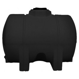 525 Gallon Black Heavy Duty Horizontal Leg Tank