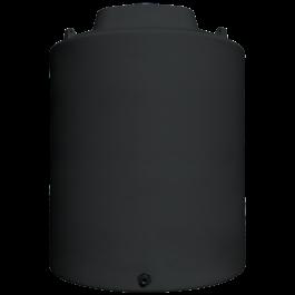 6500 Gallon Black Heavy Duty Vertical Storage Tank