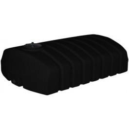 1275 Gallon Black Low Profile Transport Tank