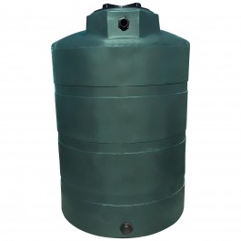 500 Gallon Green (California Only) Vertical Water Storage Tank