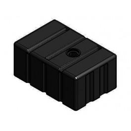 300 Gallon Black Loaf Tank