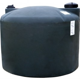 120 Gallon Black Vertical Water Storage Tank