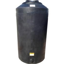 165 Gallon Black Emergency Water Storage Tank