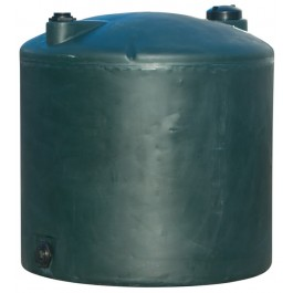 220 Gallon Dark Green Vertical Water Storage Tank