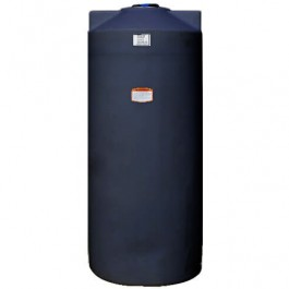 200 Gallon Black Vertical Water Storage Tank