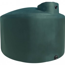 1000 Gallon Green (California Only) Vertical Water Storage Tank
