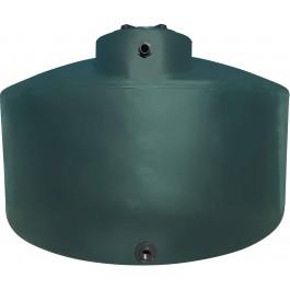 3000 Gallon Dark Green Vertical Water Storage Tank