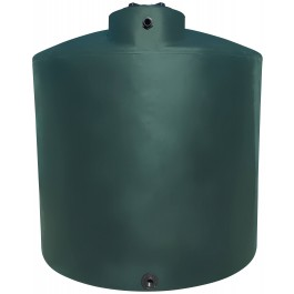2100 Gallon Green (California Only) Vertical Water Storage Tank