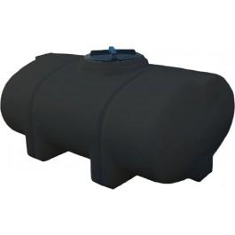 135 Gallon Black Elliptical Leg Tank