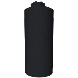 1050 Gallon Black Vertical Storage Tank