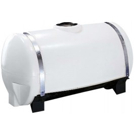 100 Gallon White Applicator Tank