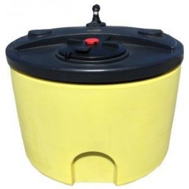 300 Gallon Plastic Waste Oil Tank