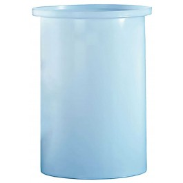 6 Gallon PP Cylindrical Open Top Tank
