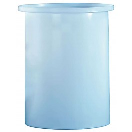 7.5 Gallon PE Cylindrical Open Top Tank