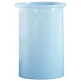 10 Gallon PP Cylindrical Open Top Tank