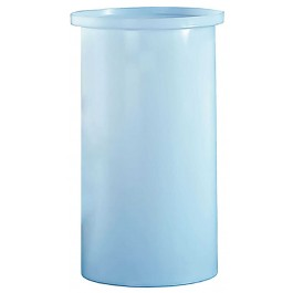 65 Gallon PP Cylindrical Open Top Tank