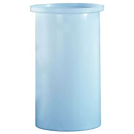 100 Gallon PE Cylindrical Open Top Tank