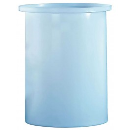 200 Gallon PE Cylindrical Open Top Tank