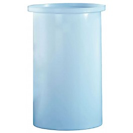 260 Gallon PE Cylindrical Open Top Tank