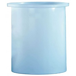 275 Gallon PE Cylindrical Open Top Tank