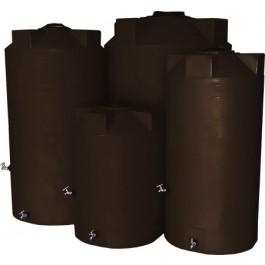 250 Gallon Dark Brown Emergency Water Tank
