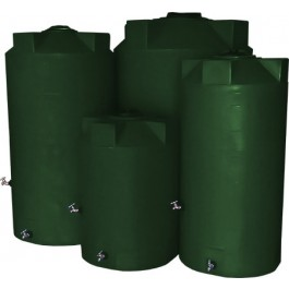 100 Gallon Dark Green Emergency Water Tank