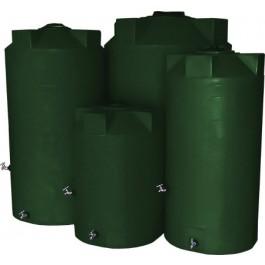500 Gallon Dark Green Emergency Water Tank