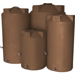 100 Gallon Mocha Emergency Water Tank
