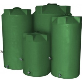 500 Gallon Light Green Emergency Water Tank