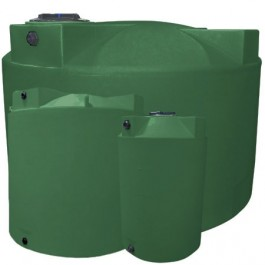 5000 Gallon Light Green Vertical Storage Tank