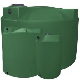 2500 Gallon Light Green Vertical Water Storage Tank