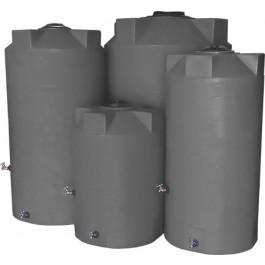 500 Gallon Light Grey Emergency Water Tank
