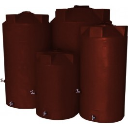 500 Gallon Red Brick Emergency Water Tank