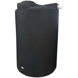 1150 Gallon Black Rainwater Collection Tank