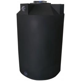 125 Gallon Black Vertical Water Storage Tank