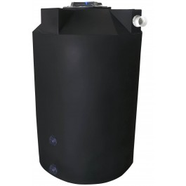 200 Gallon Black Rainwater Collection Tank