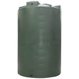 5000 Gallon Dark Green Vertical Water Storage Tank