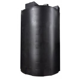 5000 Gallon Black Rainwater Collection Tank